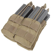 Condor MA43 Double Stacker M4/M16 Mag Pouch in Tan