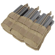 Condor MA44 Triple Stacker M4/M16 Mag Pouch in Tan