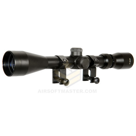 Lancer Tactical CA-408B 3-9x40 Rifle Scope w/ Mount