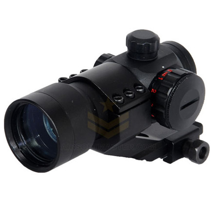 Lancer Tactical CA-403B Red Green Dot Optics w/ Cantilever Mount