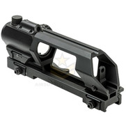 NcStar VMDCHVDGRLB-A Gen2 Carry Handle w/ Micro Red Dot Sight and Laser