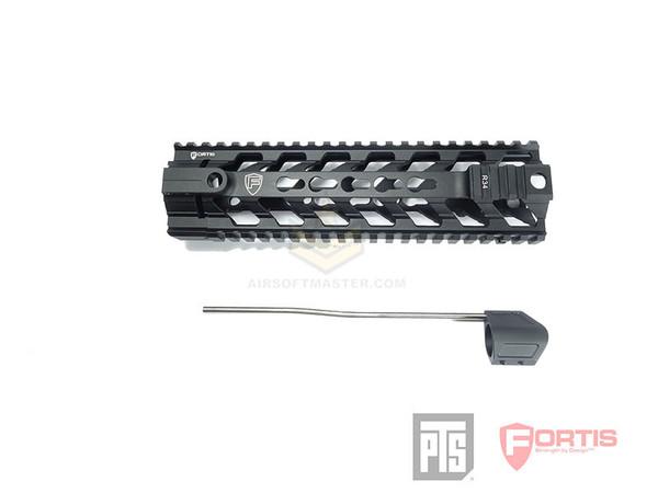 PTS Fortis REV Free Float Rail System 9 Inch Black