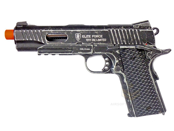 Elite Force 1911 Tactical Limited Edition CO2 GBB Pistol Weathered Black