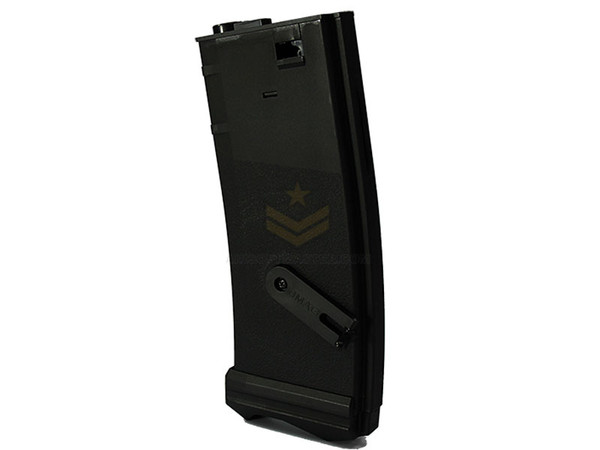 Modify J-Mag 300rds M4 Magazine Black with Tracer LED