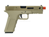 Echo1 Timberwolf Xtreme XTR Gas Blowback Pistol Tan