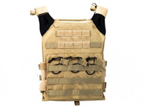 Defcon JPC Style Low Profile Plate Carrier Tan