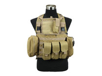 Defcon Commando Chest Rig Tan