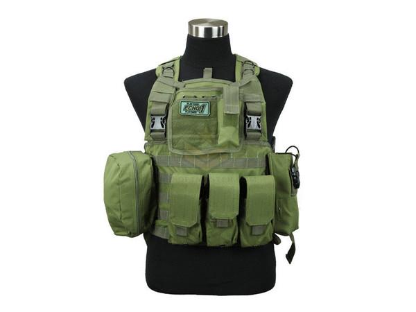 Defcon Commando Chest Rig OD