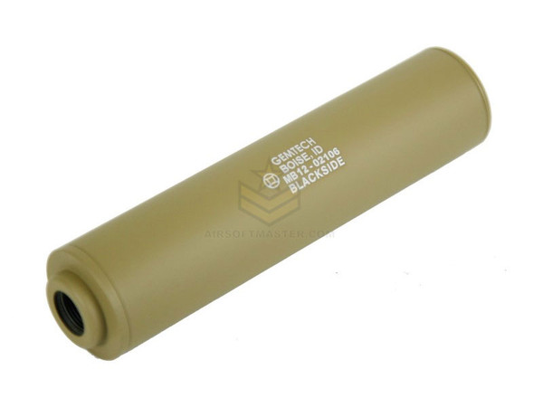 Madbull Gemtech Blackside Mock Suppressor Tan