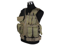Defcon Tactical Crossdraw Vest Tan