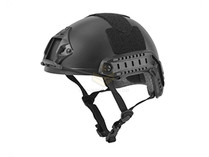 Lancer Tactical Basic Fast Helmet Black