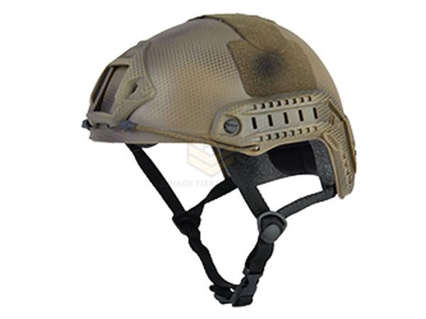 Lancer Tactical Basic Fast Helmet Custom Camo