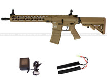 Classic Army M4 KM-12 Keymod Skirmish AEG Tan