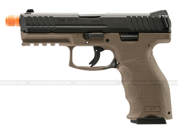 HK VP9 Tactical GBB Airsoft Pistol Tan