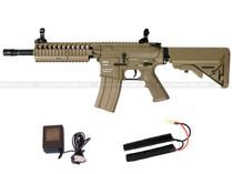 Classic Army M4 RIS EC1 Skirmish Airsoft Rifle Tan