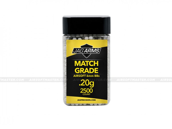 Jag Arms .20g Airsoft BBs 2500R Match Grade White