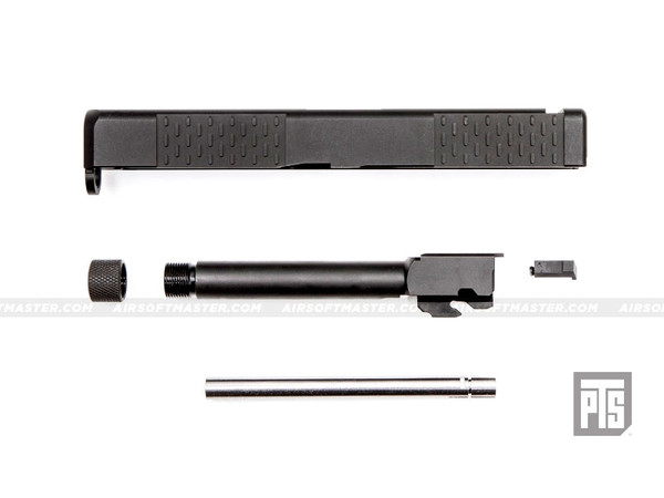 PTS Battlecomp G17 Slide & Barrel Set Black