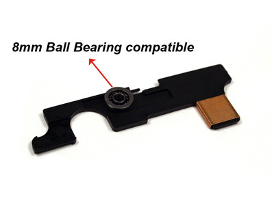 Modify AK Selector Plate for Version 3 Gearbox