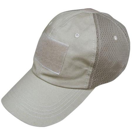 Condor Tactical Mesh Cap in Tan