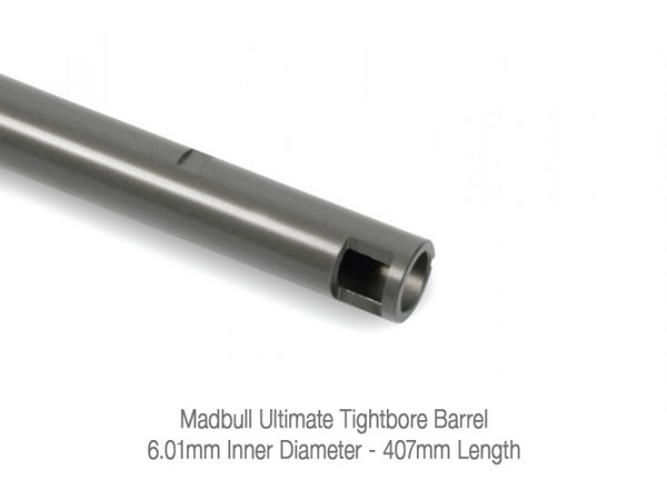 Madbull Inner Barrel 6.01mm Ultimate Precision Tight Bore (407mm)
