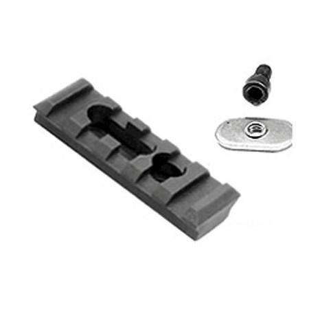Ergo 5 Slot Polymer Handguard Picatinny Rail