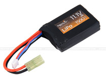 Lancer Tactical 11.1v 1500mAh 20C Lipo Battery Flat