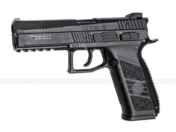 ASG CZ P-09 CO2 Blowback Airsoft Pistol Black