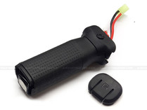 PTS EPF Enhanced Polymer Vertical Grip Battery Compartment Black
