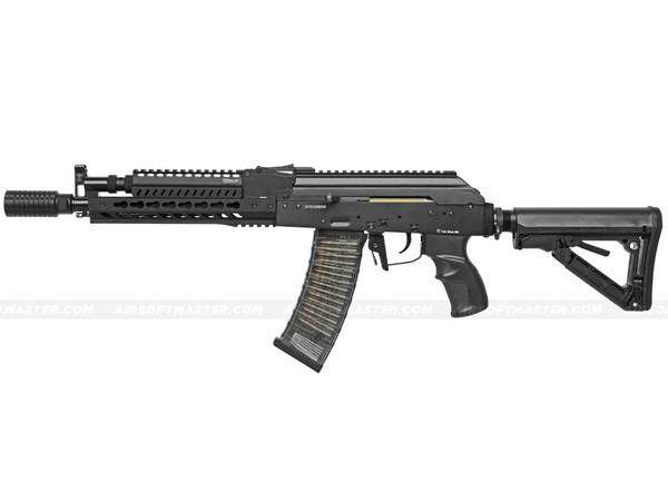 G&G RK74 E ETU Full Metal Keymod Airsoft Gun Black