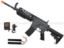 JG M4 S-System Airsoft Gun Black