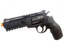 """Elite Force H8R """"Hater"""" Revolver CO2 Black"""