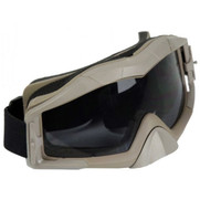 Bravo Tactical Airsoft Goggles - Tan