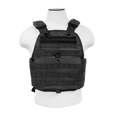 NcStar Ultimate Plate Carrier Black CVPC2924B