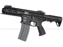 G&G GC16 ARP556 CQB Full Metal Airsoft Gun w/ Burst Mosfet Black