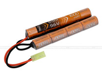Lancer Tactical 9.6V 1600mAh NiMH Nunchuck Battery