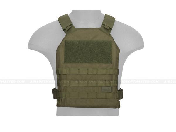 Lancer Tactical CA-1512GN Basic Plate Carrier OD Green