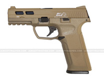 ICS BLE-XAE Ambidextrous Gas Blowback Pistol Tan