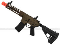 FC Avalon VR16 Saber CQB M-Lok M4 Full Metal Airsoft Gun Bronze Tan