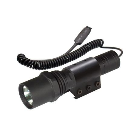UTG LT-TL099PR2 Tactical Xenon Flashlight w/ Weaver Ring 95 Lumens