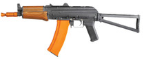 Cybergun Kalashnikov AK74 SU - Full Metal, Real wood