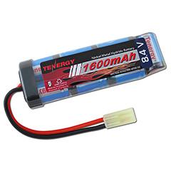 Tenergy 8.4v 1600mAh NiMH Mini Battery