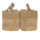Condor Double M14 Open Top Mag Pouch - Tan