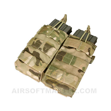 Condor Multicam Double M4 Open Top Mag Pouch (MA19-008)