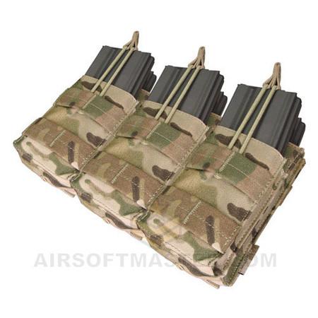 Condor Multicam Triple Stacker M4 Mag Pouch MA44-008