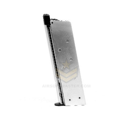 Socom Gear Single Stack 1911 Magazine w/o Baseplate - Silver