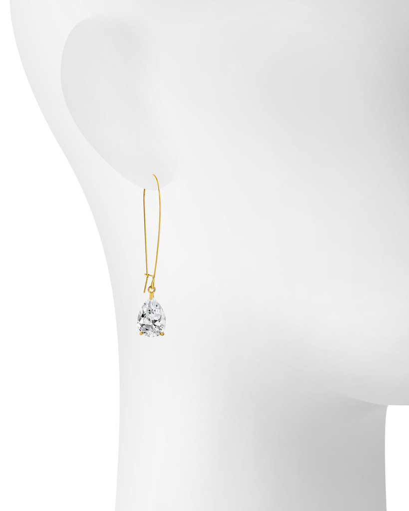 Yellow Gold/Clear Shown on Ear