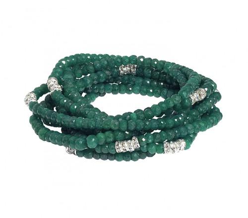 Emerald Bracelet Stack