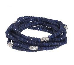Sapphire Bracelet Stack