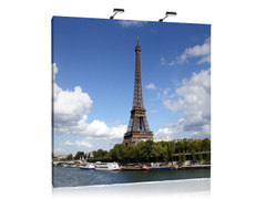 10' Aspen - Graphics Straight featuring image of the Eiffel Tower in Paris.