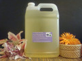 Organic Lavender & Tea Tree Body & Massage Oil 128oz/1 Gallon Jug